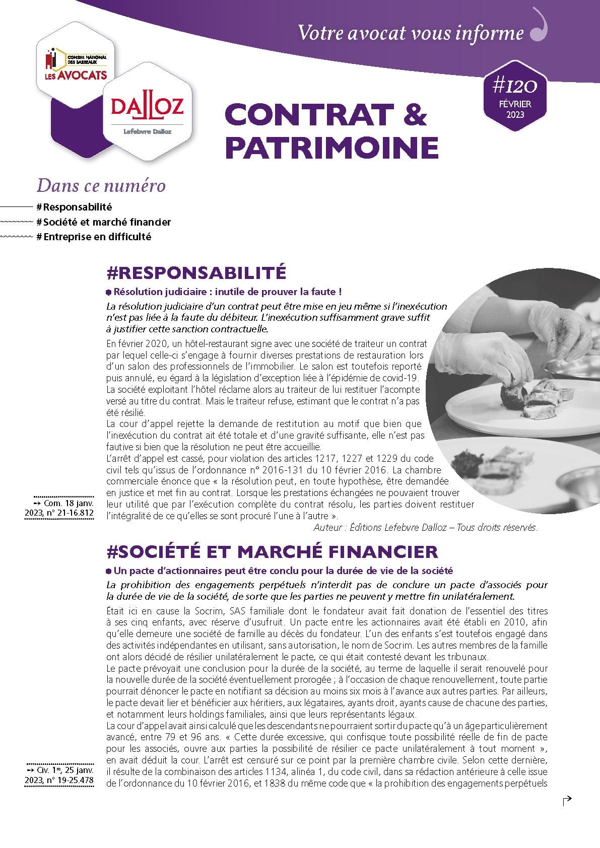 Newsletter-Contrat-et-Patrimoine